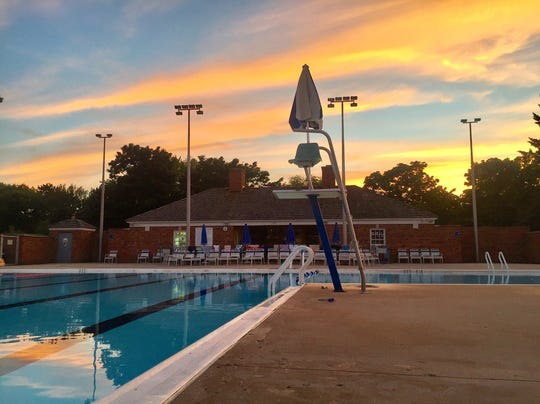 The Fox Point Pool features a full pool, as well as a children's pool.