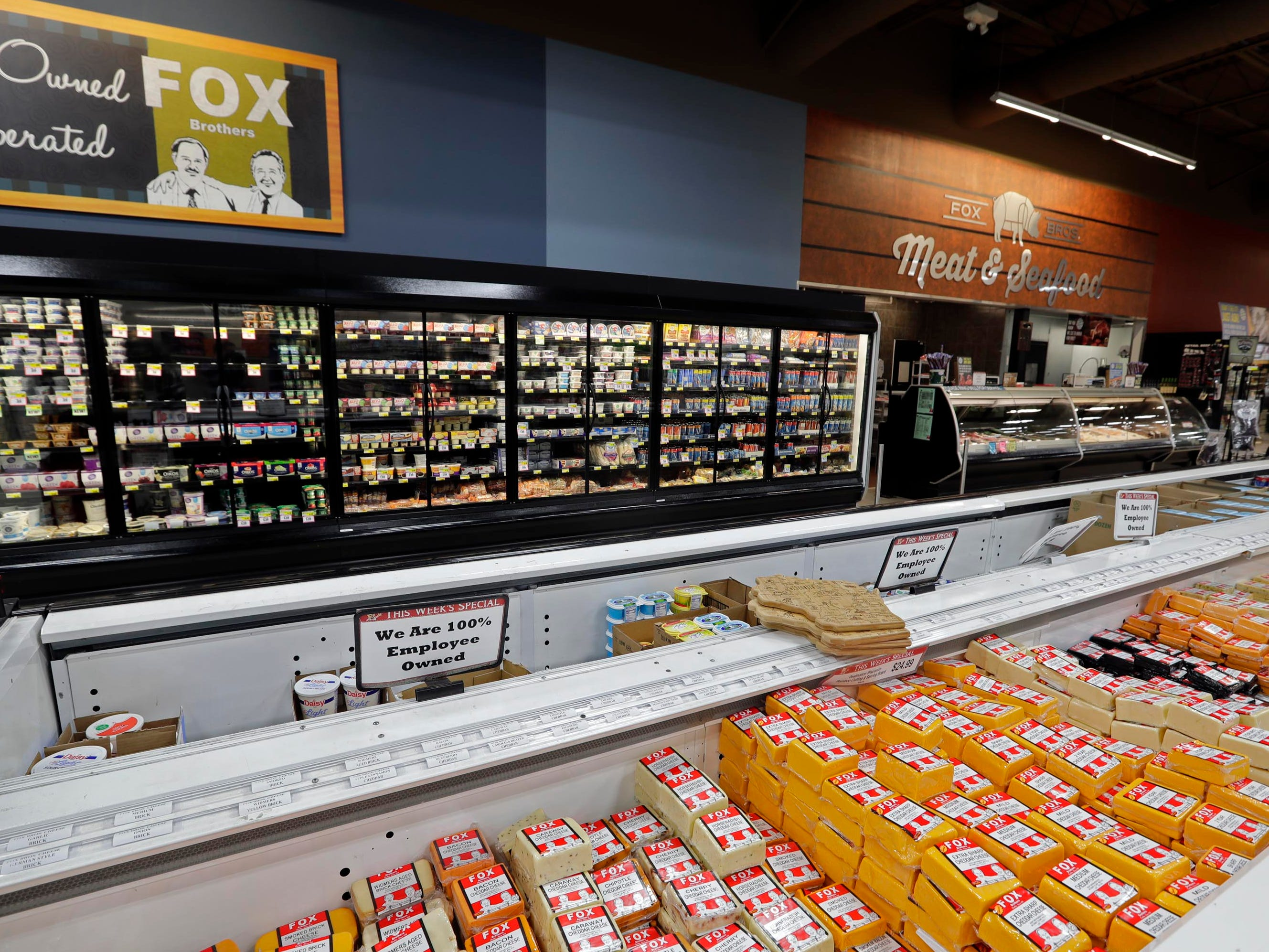 The Fox Bros. Piggly Wiggly store in Richfield features private label sausages and cheese prepared daily.