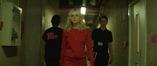 "Elle Fanning plays a young singer determined to win a competition in ""Teen Spirit."""