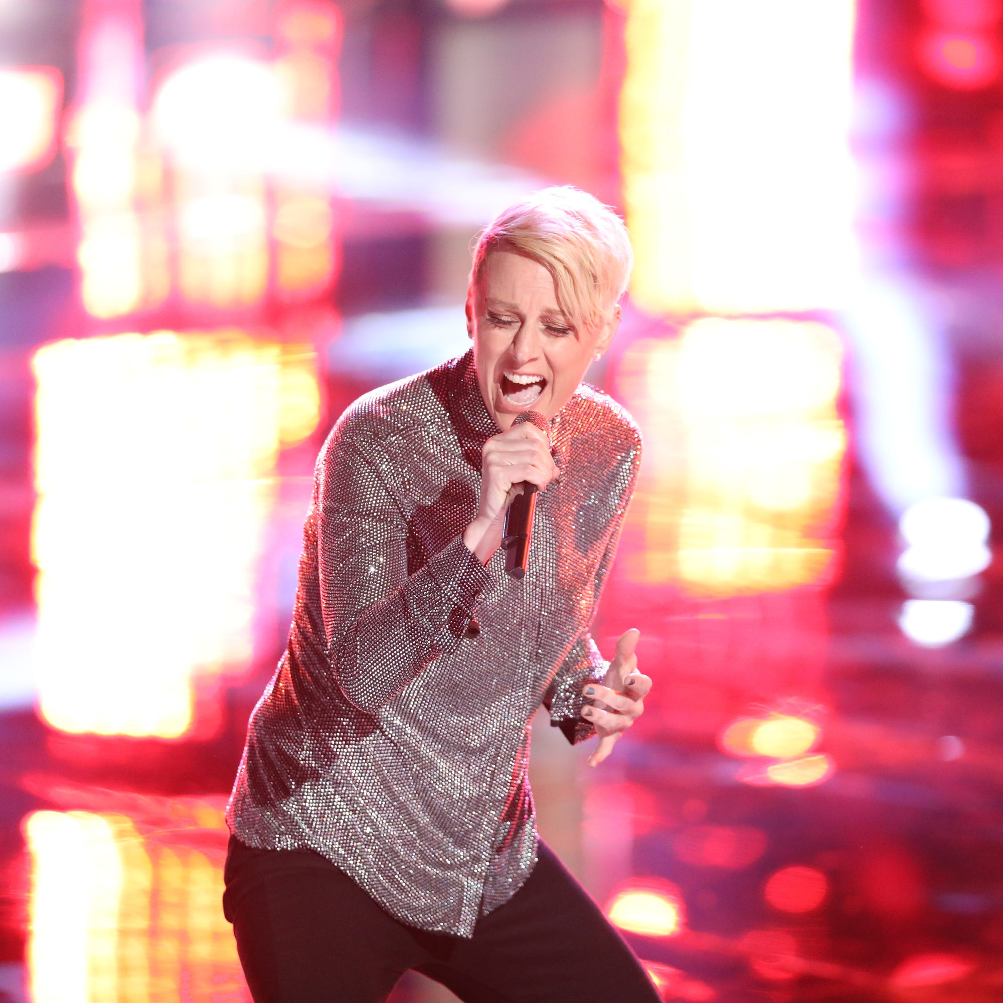Kenosha's Betsy Ade cut from 'The Voice' again — and stolen again, this time by Adam Levine