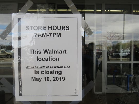 Walmart Piles at the Ledgewood Mall in Roxbury April 16, 2019. Walmart announced it will demolish the store in June and replace it with a larger supercenter, slated to open in 2020.