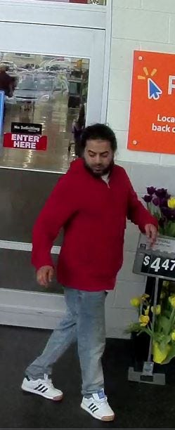 Boonton police identified resident  Carlos E. Paguada, from this surveillance photo, as a suspect in a stabbing-slashing on Main Street. April 15, 2019.