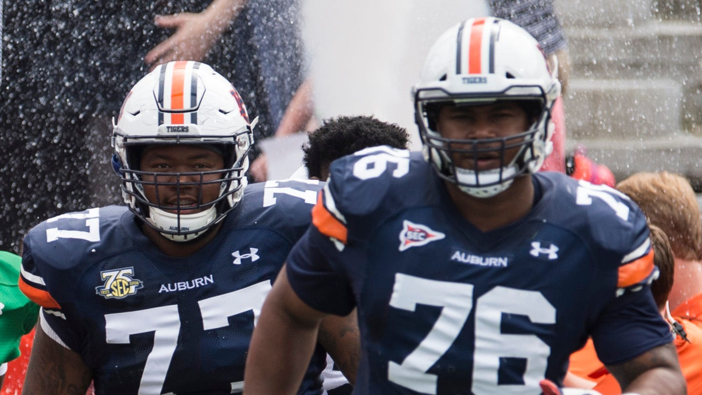 The secret to Auburn's 'completely different' offensive line is science