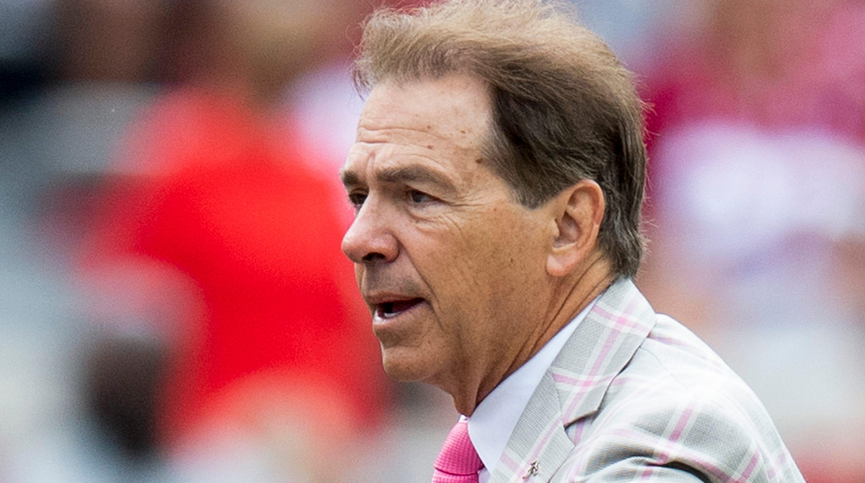Nick Saban: Alabama coach's hip-replacement surgery goes well