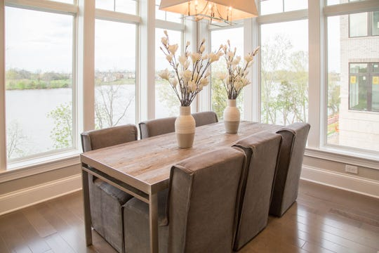 Revery Point has opened a model in Building One of its lakefront condos in Gallatin showcasing their custom cabinets, luxury craftsmanship and finishes.