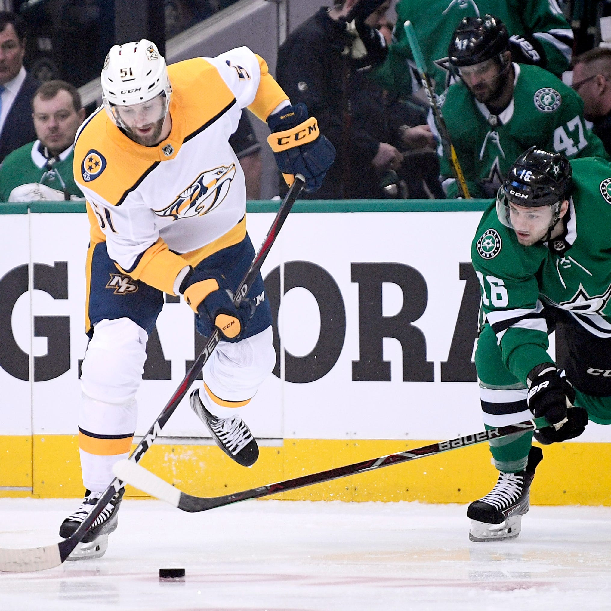 Live updates | Preds look to take series lead in Game 3 at Dallas, with TV and radio information