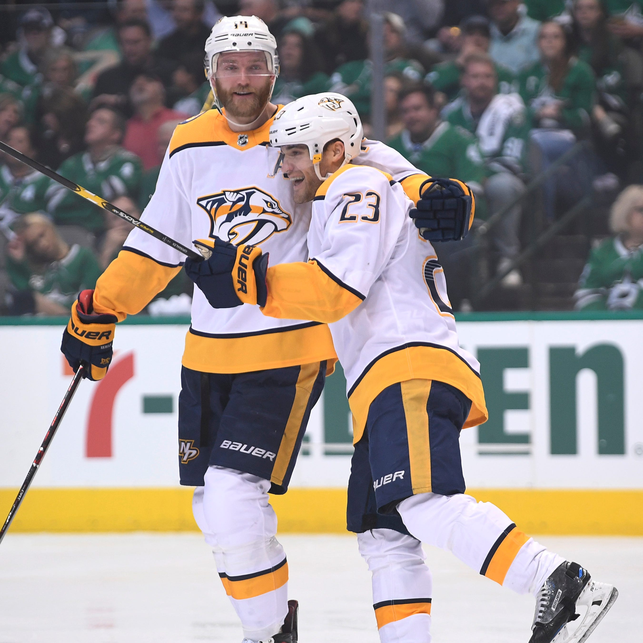 Predators use third period goal from Mikael Granlund take 2-1 series lead