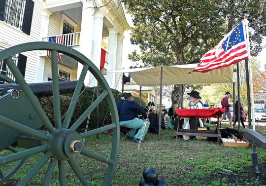 Lotz House in Franklin is putting on a living history exhibition focusing on the Civil War on March 18, 2017.
