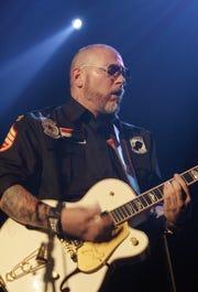 American musician Erik Schrody of Everlast performs on stage at the Rohstofflager in Zurich, Switzerland, Sunday evening, Nov. 30, 2008. (AP Photo/Keystone, Peter Klaunzer)