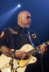 American musician Erik Schrody of Everlast performs on stage at the Rohstofflager in Zurich, Switzerland, Sunday evening, Nov. 30, 2008. (AP Photo/Keystone, Peter Klaunzer)