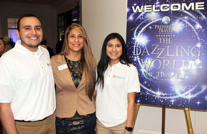 Jeffrey Flores, Noemi Y. Perez and Ofelia Carrillo.