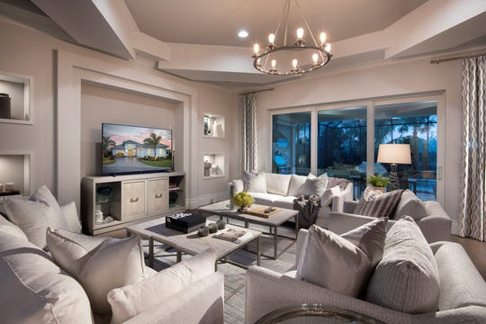 Clive Daniel has installed total interior furnishings for the Cambria model.