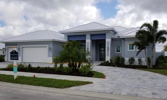 The Sunset Key, Florida Lifestyle Homes new model at Naples Reserve.