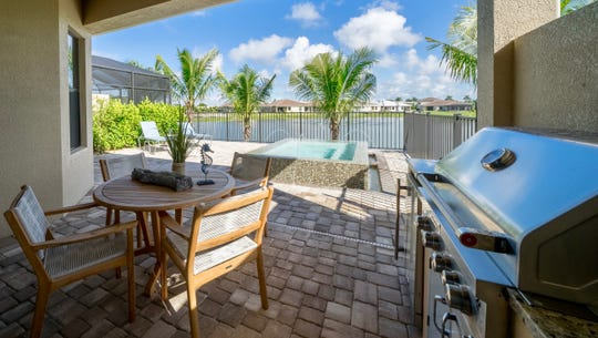 Pools are a popular option for those purchasing a custom estate villa at  Venetian Pointe.
