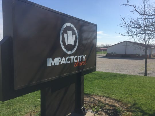 """The associate pastor at Impact City Church in Pataskala, Ohio, apologized for his idea where teens were invited to abuse him during an after-school session Monday, April 15, 2019. """"Tonight, was an anomaly. ... I'm deeply sorry for the pain I've caused,"""" said Jaddeus Dempsey."""