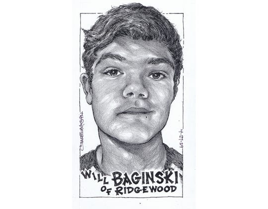 Will Baginski, Ridgewood track & field