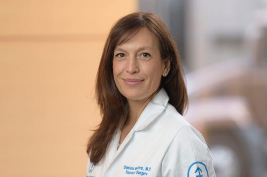 Dr. Daniela Molena is a surgeon who specializes in caring for people with esophageal cancer at Memorial Sloan Kettering Monmouth.
