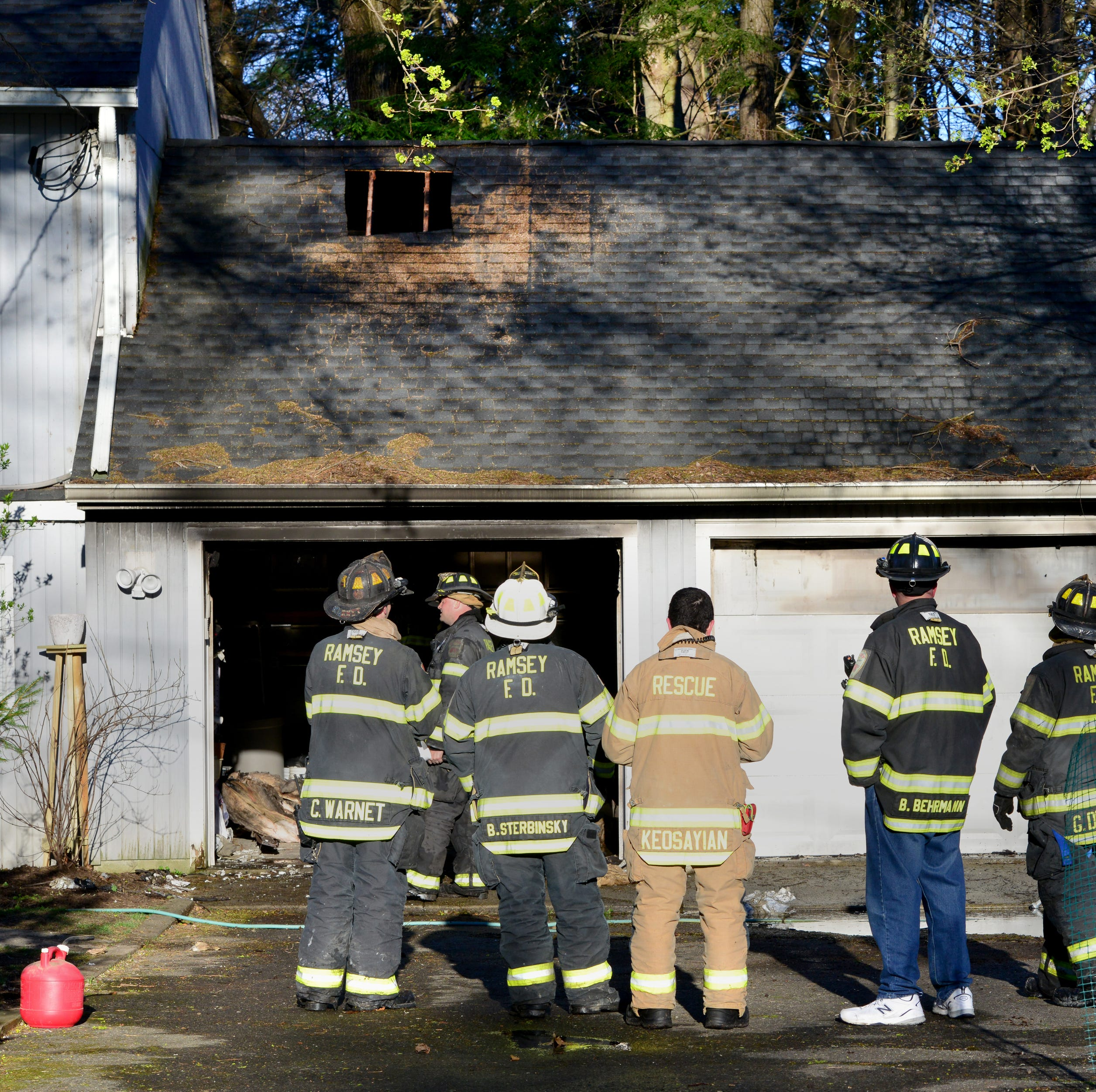 Woman alerted sleeping Ramsey family that their garage was on fire