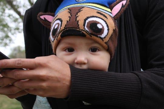 8-month-old Dzidziely Lucero