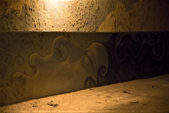 """A mural of """"La Llorona"""" is painted at La Llorona Park, 3440 W Picacho Ave., in Las Cruces."""