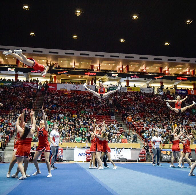 New Mexico cheerleading competition may end over death threats, aggressive posts