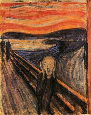 """The Scream"" painted in 1893 by Edvard Munch will be discussed as part of ""The Late 19th & 20th Century Art"" series."