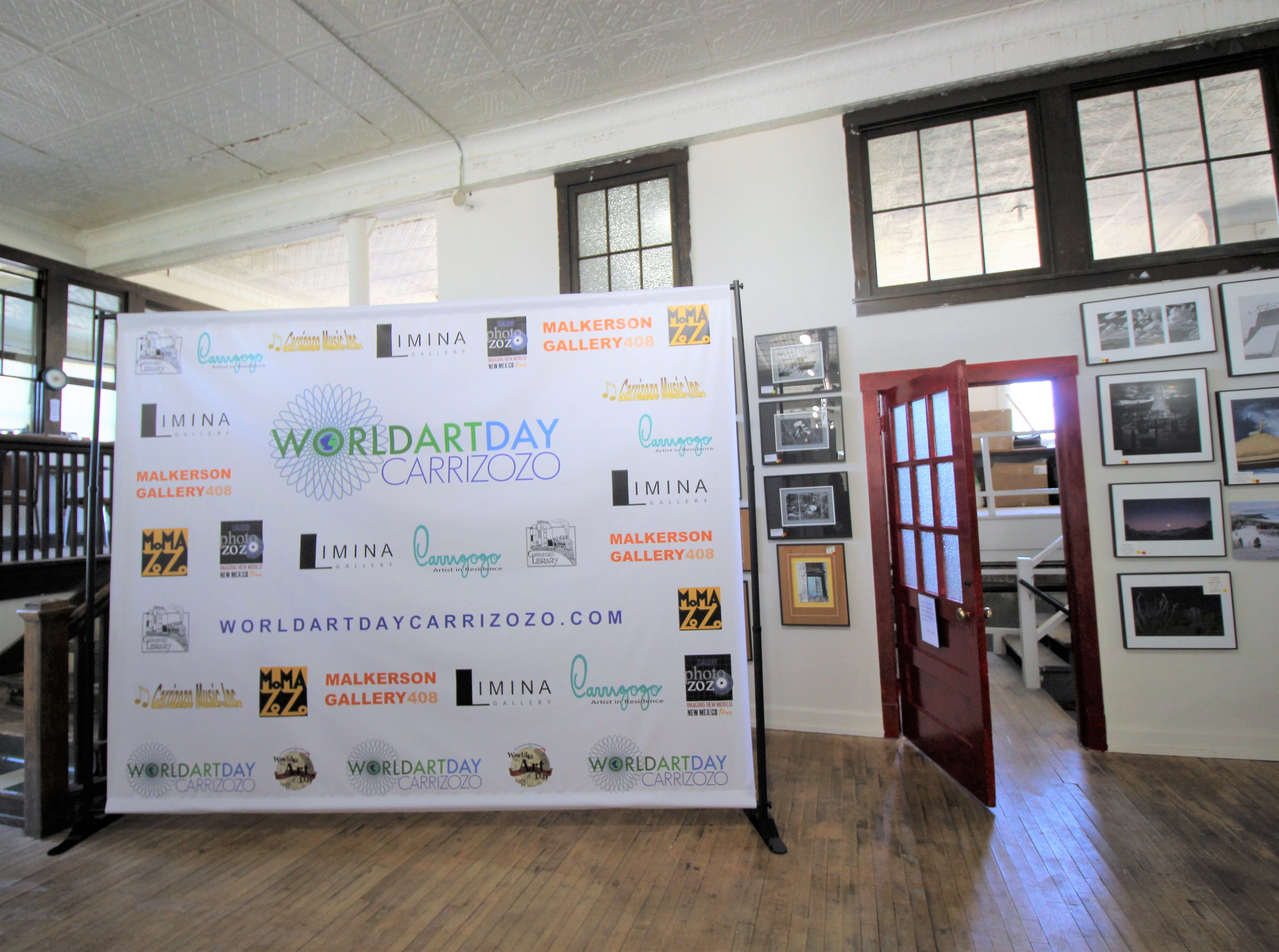 The Carrizozo art district celebrated World Art Day showcasing photographers, musicians, sculptors and painters. The two day event offered guest to speak with the artists and to view their works. The event was free to the public.