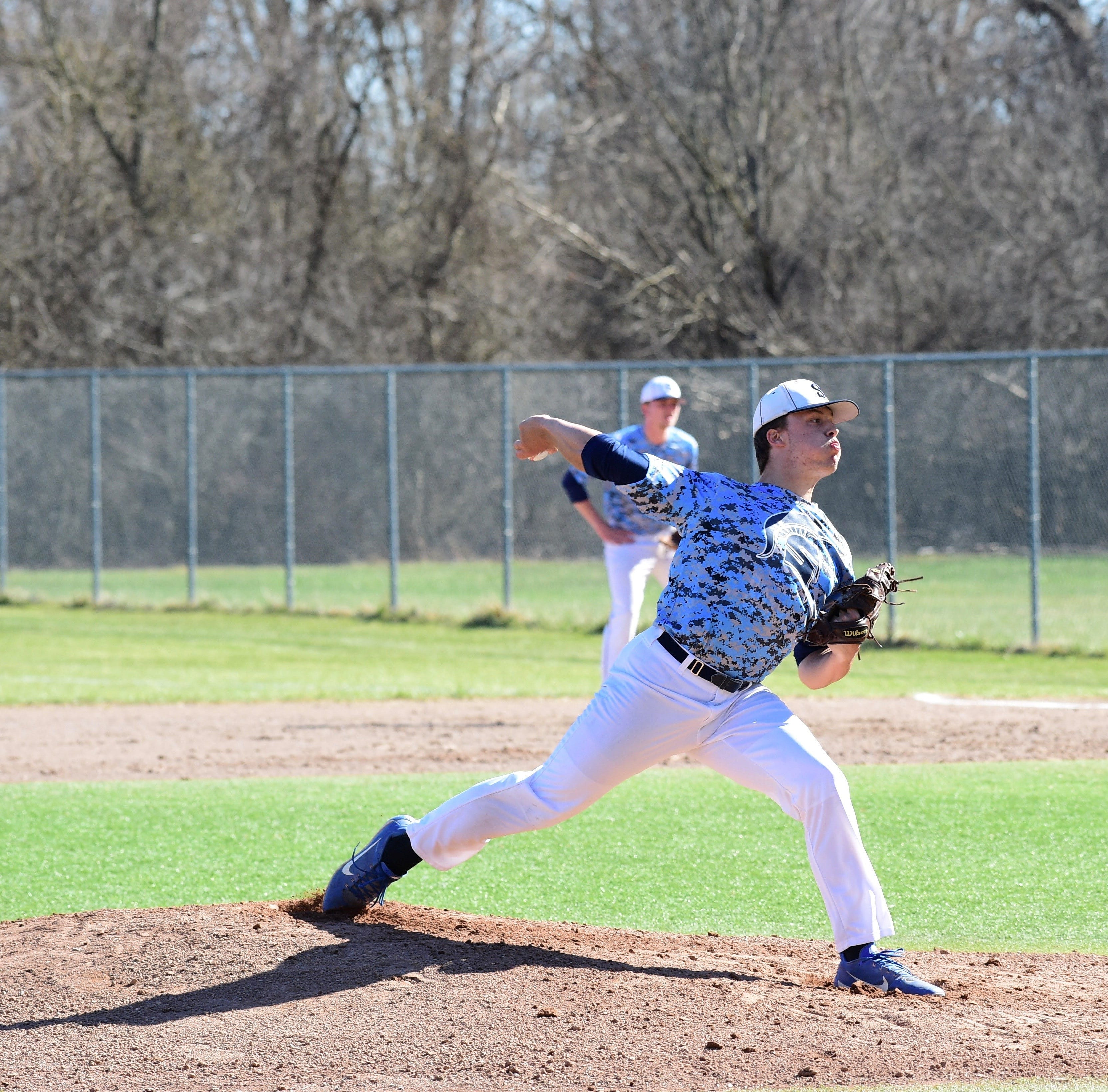 Strong pitching leads Livonia Stevenson baseball past Livonia Churchill in city showdown