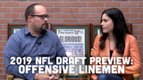 Ryan Wood and Olivia Reiner discuss the Packers' needs on the offensive line and where they might be able to address them in the draft.