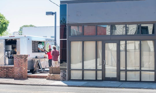 Randy Russel leased the vacant property at 9 E. Gregory St., formerly thehome of Revolver Records,in March with plans to renovate the building and transform it intoa small dining room and event hall to be launched this summer.