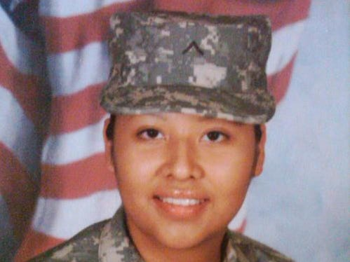 U.S. soldier Barbara Vieyra, of Mesa, killed in Afghanistan