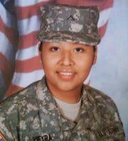La soldado de EEUU Bárbara Vieyra, de Mesa, AZ, perdió la vida en el cumplimiento de su deber en Afganistán.