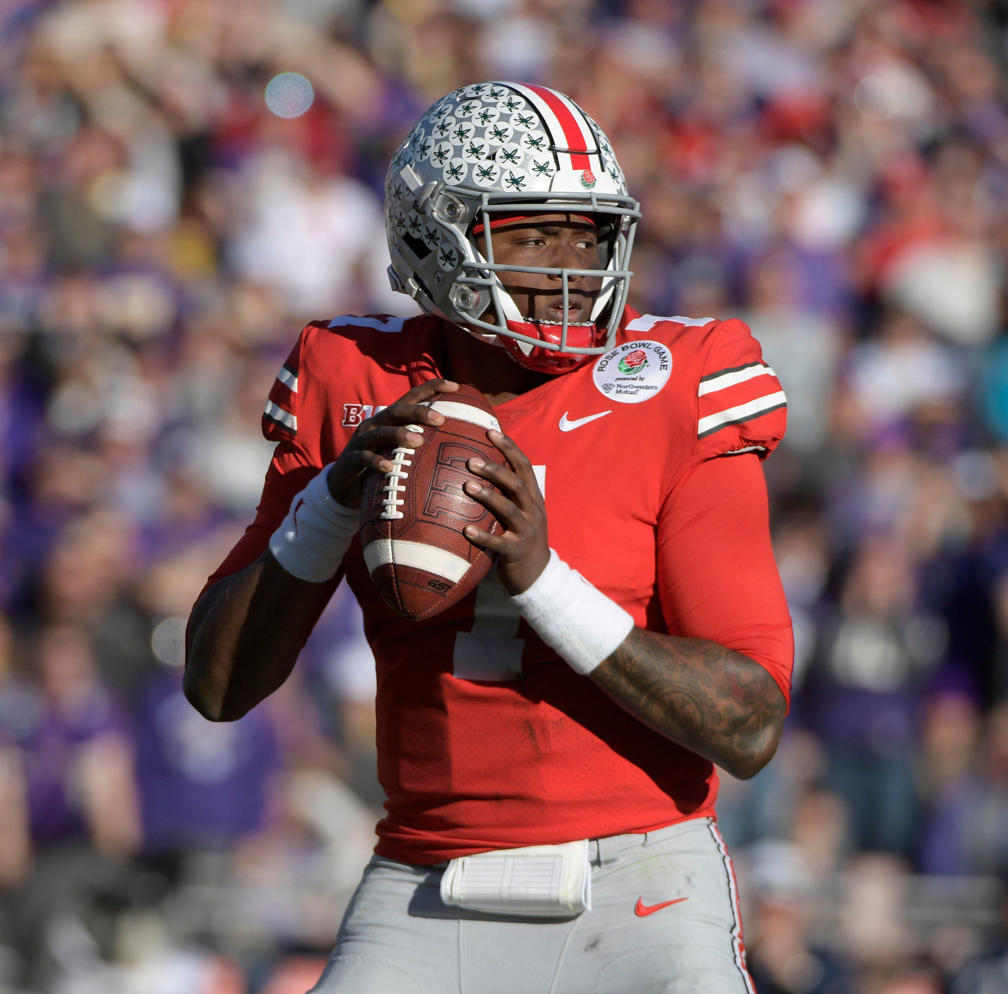 Ohio State quarterback Dwayne Haskins is one of the top quarterbacks available in the 2019 NFL draft.