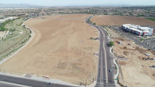 Goodyear's new Civic Square project will be at the northwest corner of 150th Drive and McDowell Road.