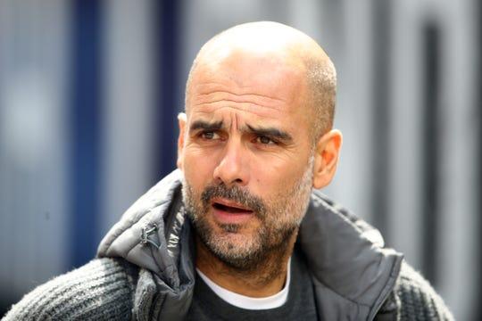 Pep Guardiola, estratega del Manchester City.