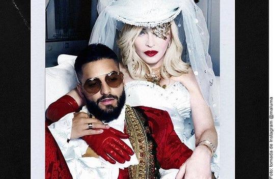 Madonna y Maluma juntos.