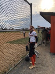 Freshman shortstop Sam Krahling has been swinging a hot bat for Palmyra in her debut season.