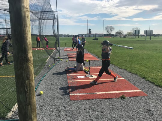 Focusing on the fundamentals in practice has been one of the keys to the Palmyra softball team's success so far this season.