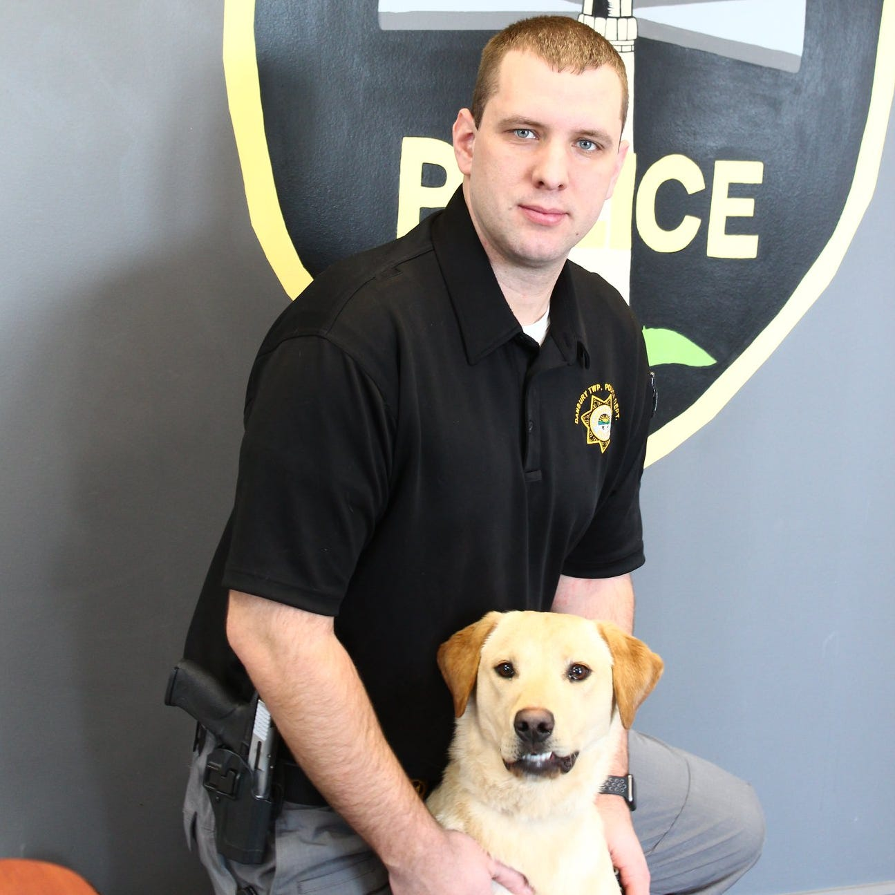 Danbury Twp. Police welcome new K-9 officer Kalahan