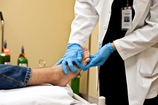 The foot and lower leg are two of the most common locations of sores, ulcers and chronic wounds.