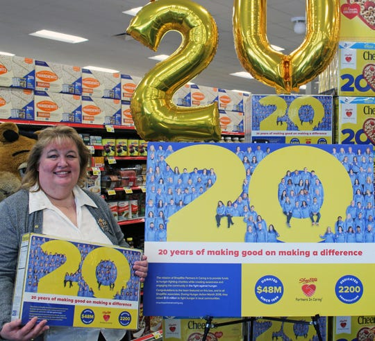 Dawn Doughty-Myers of Hyde Park, who works at ShopRite of Cortlandt, is one of the featured employees on the special edition Cheerios boxes.