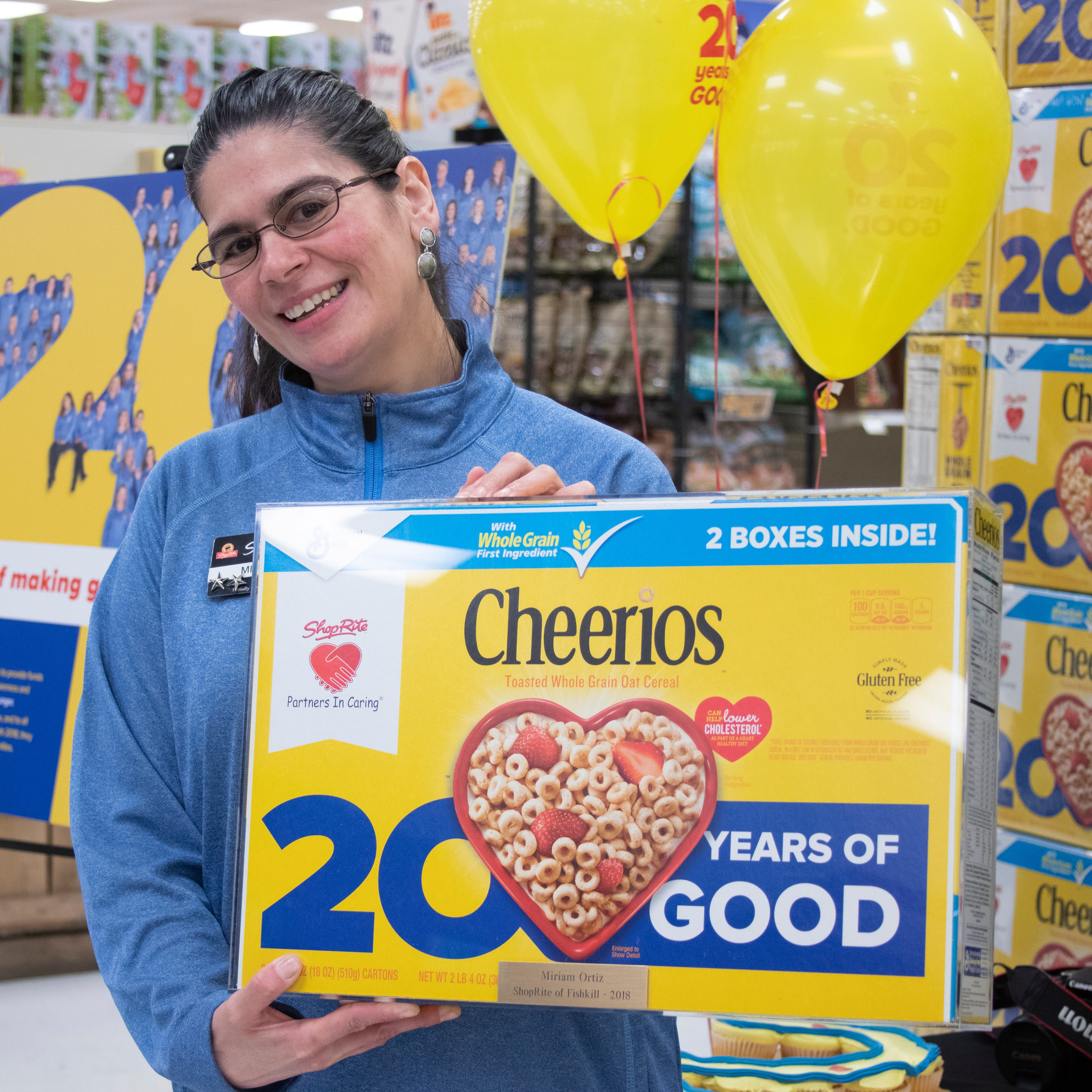 Hometown 'heroes' make imprint on Cheerios boxes for ShopRite fundraising efforts