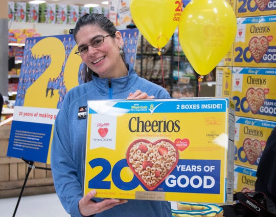 Miriam Ortiz of Beacon, who works at ShopRite of Fishkill), is one of 101 ShopRite associates awarded for their fundraising efforts.