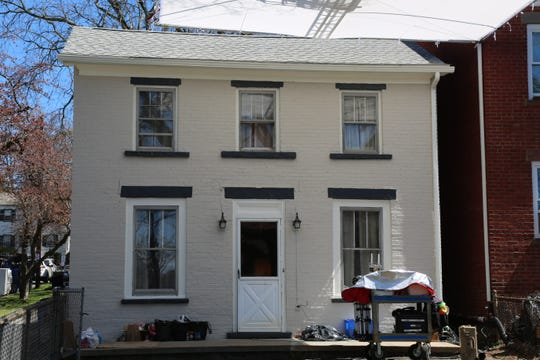 A house on Delafield Street in the City of Poughkeepsie is prepared for the filming of an HBO series starring Mark Ruffalo as seen on Tuesday, April 16, 2019.