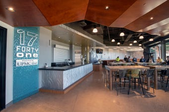 Three refreshed spaces at PeoplesBank Park and in-house catering offer year round venue on the top floors.
