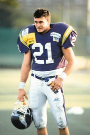 Former Wooster High football player Jake Capdeville played for the Vienna Vikings.