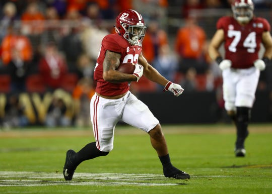 Alabama tight end Irv Smith Jr. was a key cog in the Crimson Tide offense.