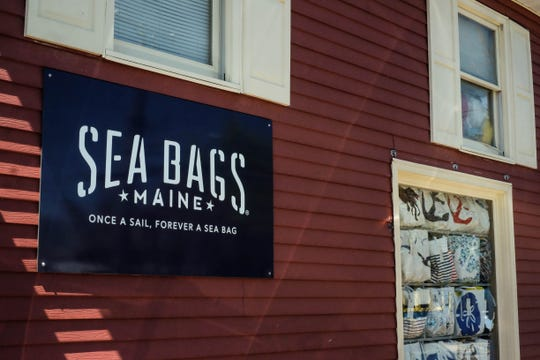 Sea Bags recently opened a shop in Rehoboth Beach, where folks can now buy totes and handbags made from recycled sails that would have otherwise been tossed in the landfill. The company has recycled 700 tons of sails so far.