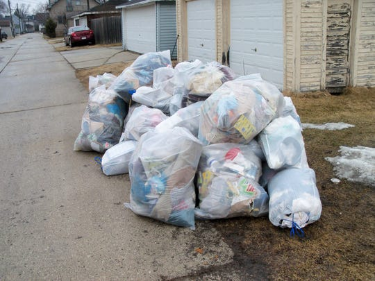 Starting soon, Sheboygan residents will put their trash and recycling in garbage carts with a new automated system instead of leaving the bags out on the curb.