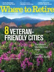 Where to Retire Magazine named Bossier as top city for retirement for veterans.